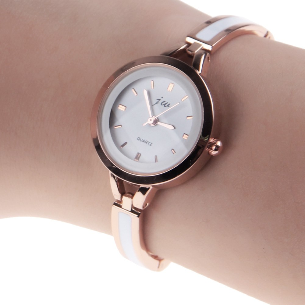 womens fashion alloy quartz analog bracelet wrist