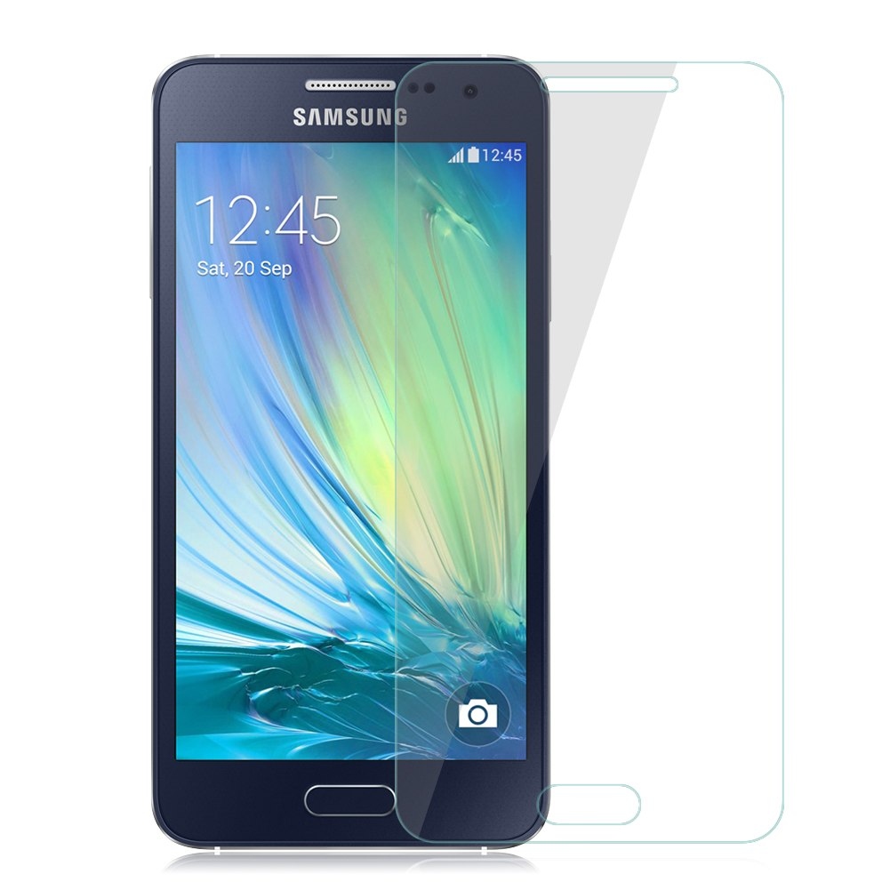 genuine 9h tempered glass screen protector for samsung galaxy a3 a5 a7 a8 j7 ebay. Black Bedroom Furniture Sets. Home Design Ideas