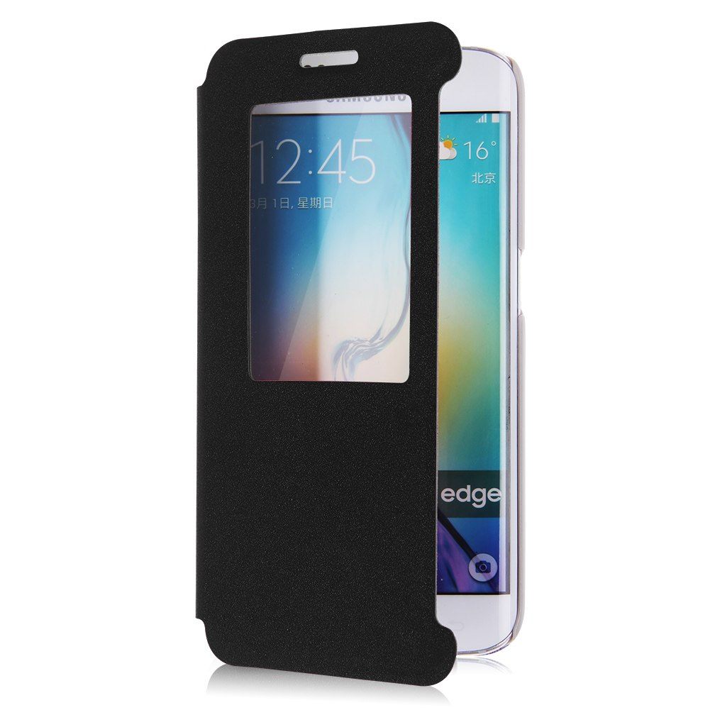 for samsung galaxy s6 s6 edge quick view window flip. Black Bedroom Furniture Sets. Home Design Ideas