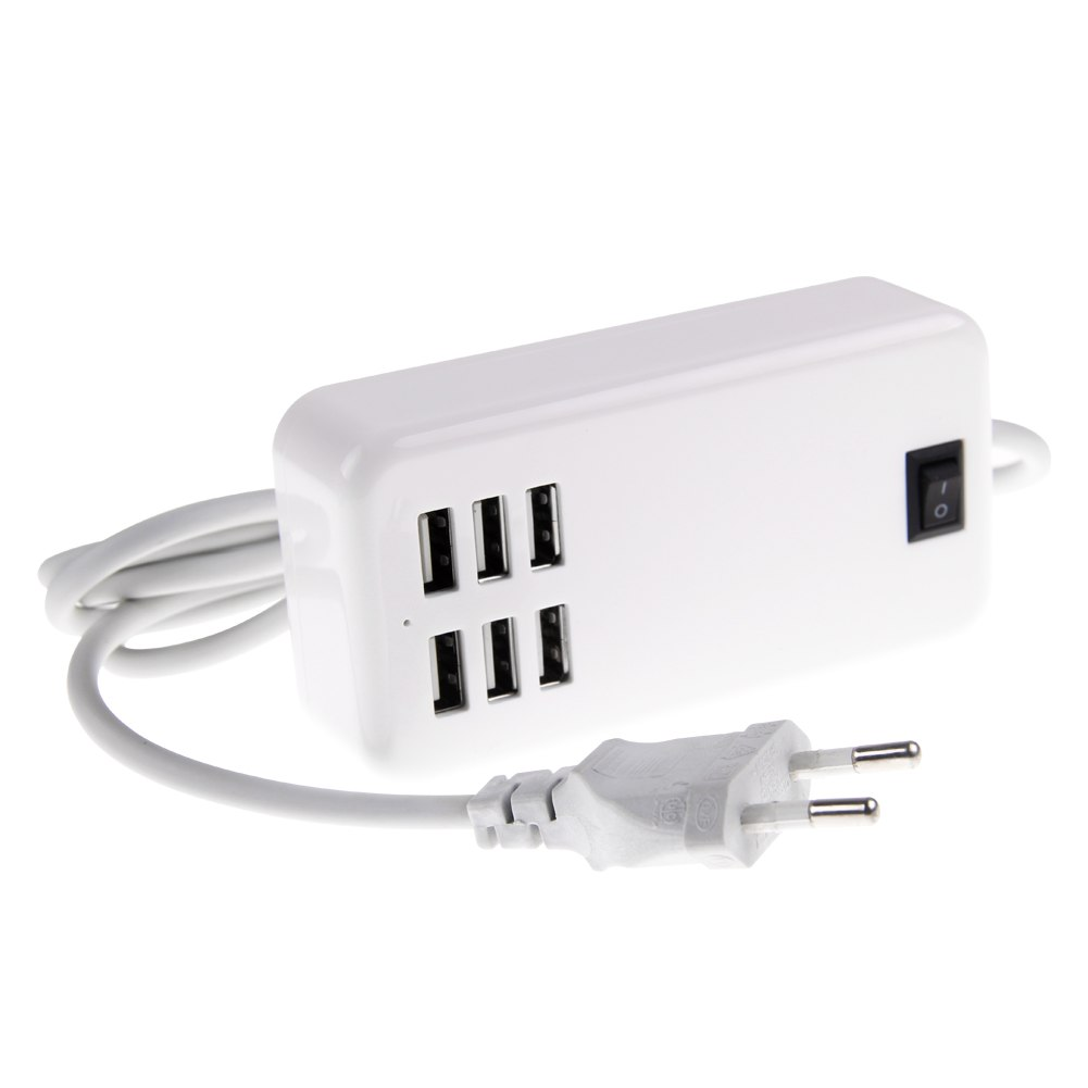 30 watts 6 port usb wall charger multi port for usb - Multi chargeur usb ...
