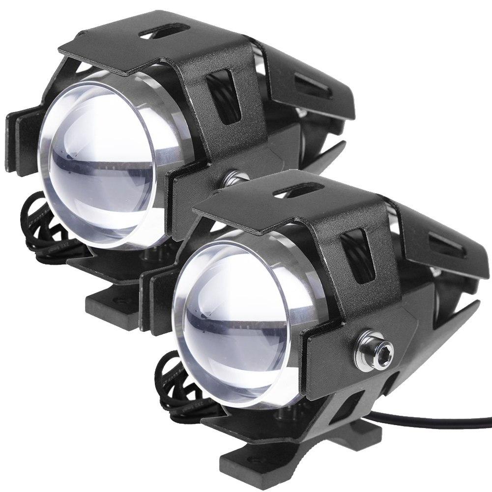 2pcs CREE U5 LED MOTORCYCLE SPOT DRIVING FOG LIGHT FOR BMW