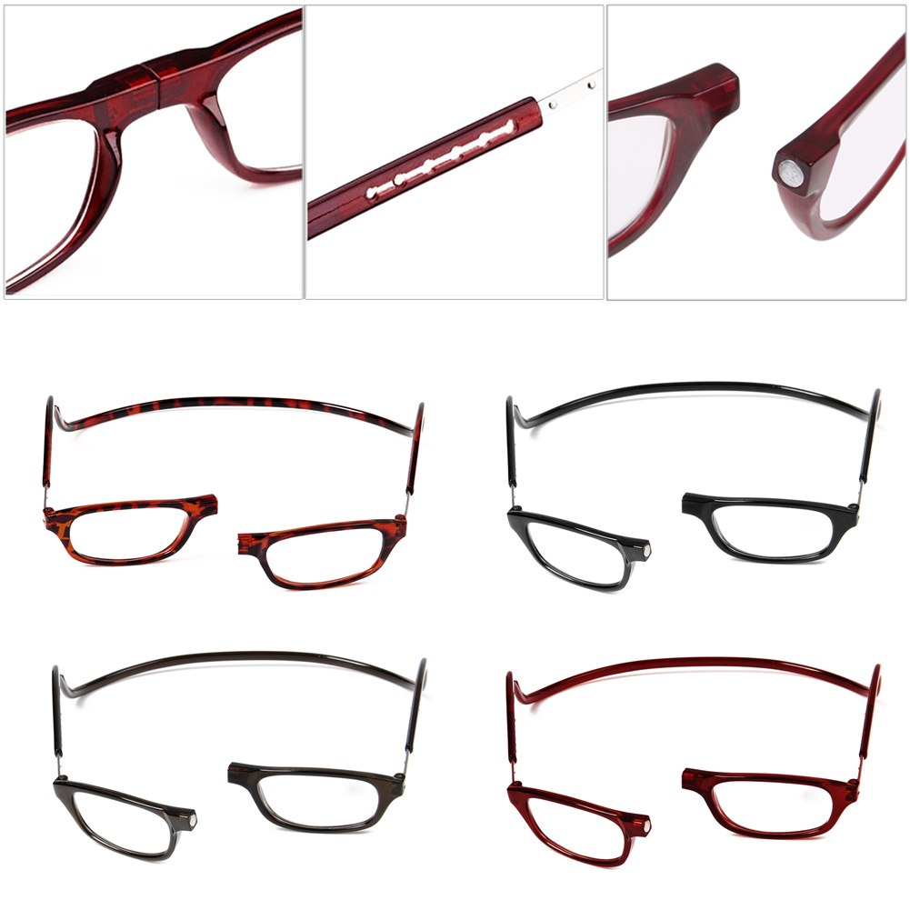 unisex hanging magnetic reading glasses frame 1 5