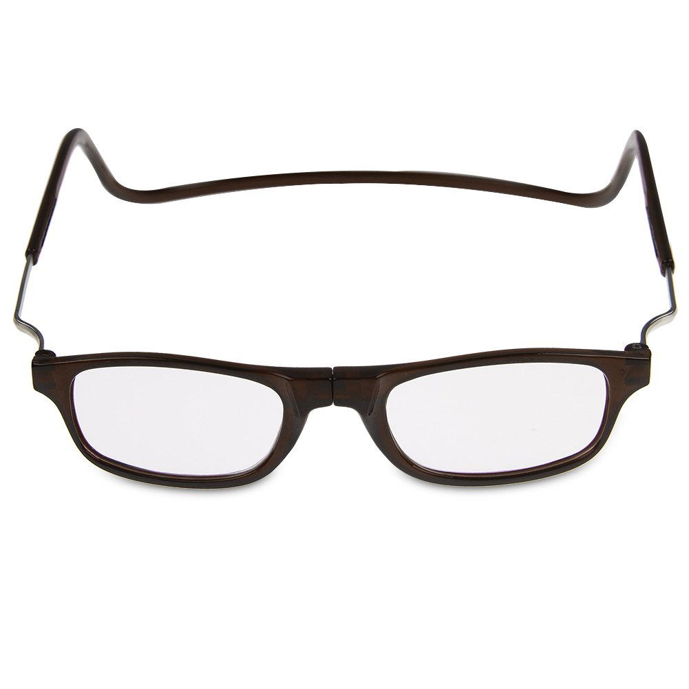 front connect magnetic adjustable reading glasses anti
