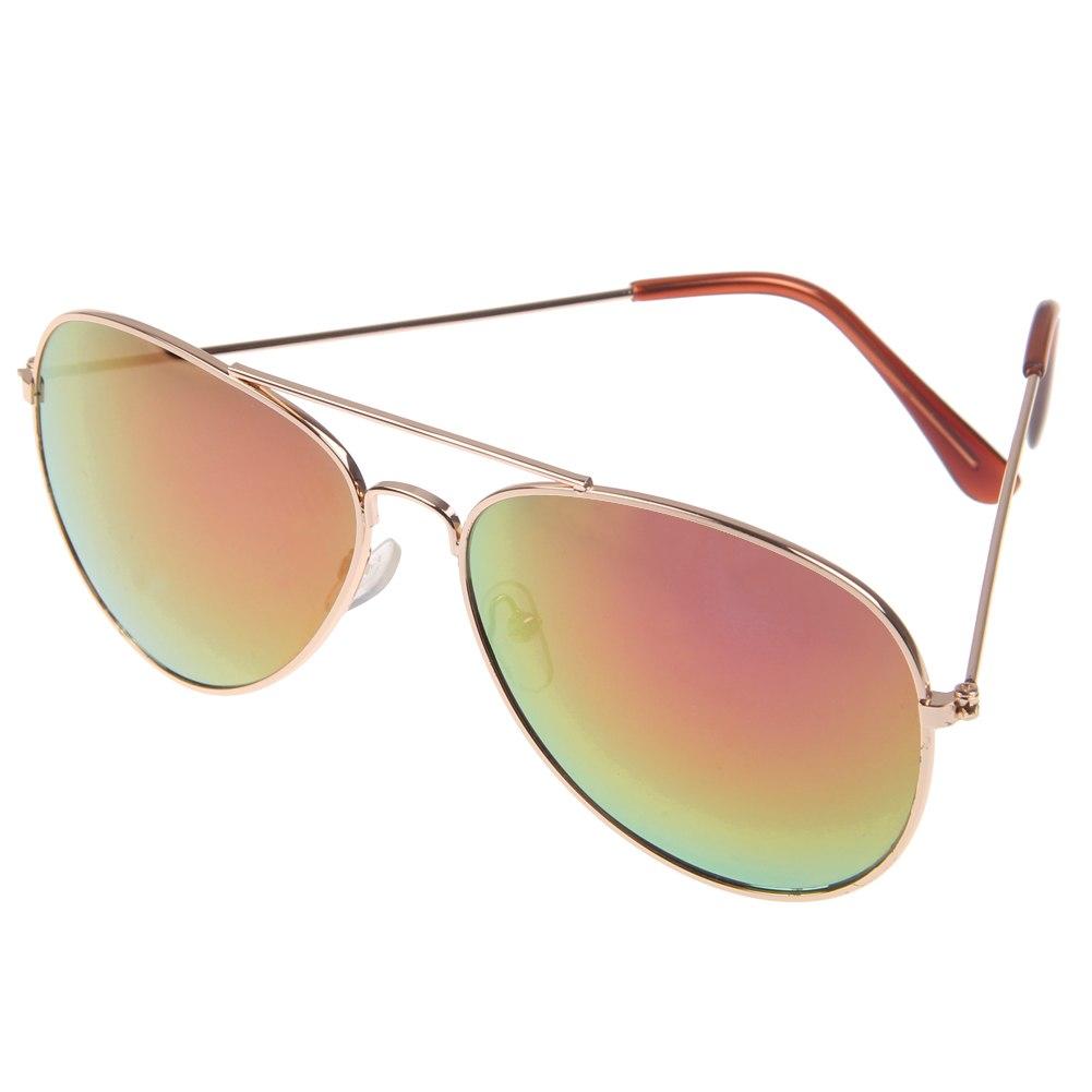 1xhomme femme lunette de soleil aviateur pilot effet miroir monture d 39 or argent ebay. Black Bedroom Furniture Sets. Home Design Ideas