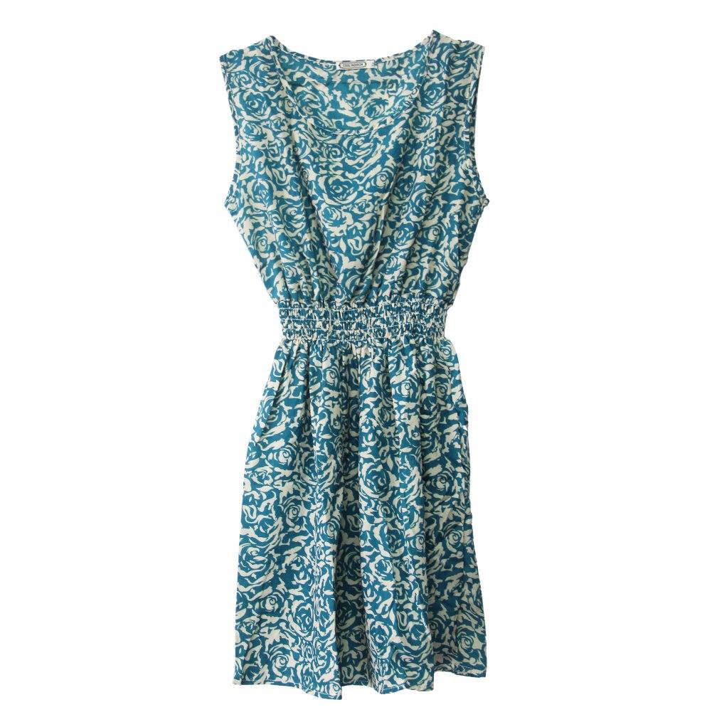 sommer kleid damen blumen chiffon kleid abendkleid partykleid sommerkleid mode ebay. Black Bedroom Furniture Sets. Home Design Ideas