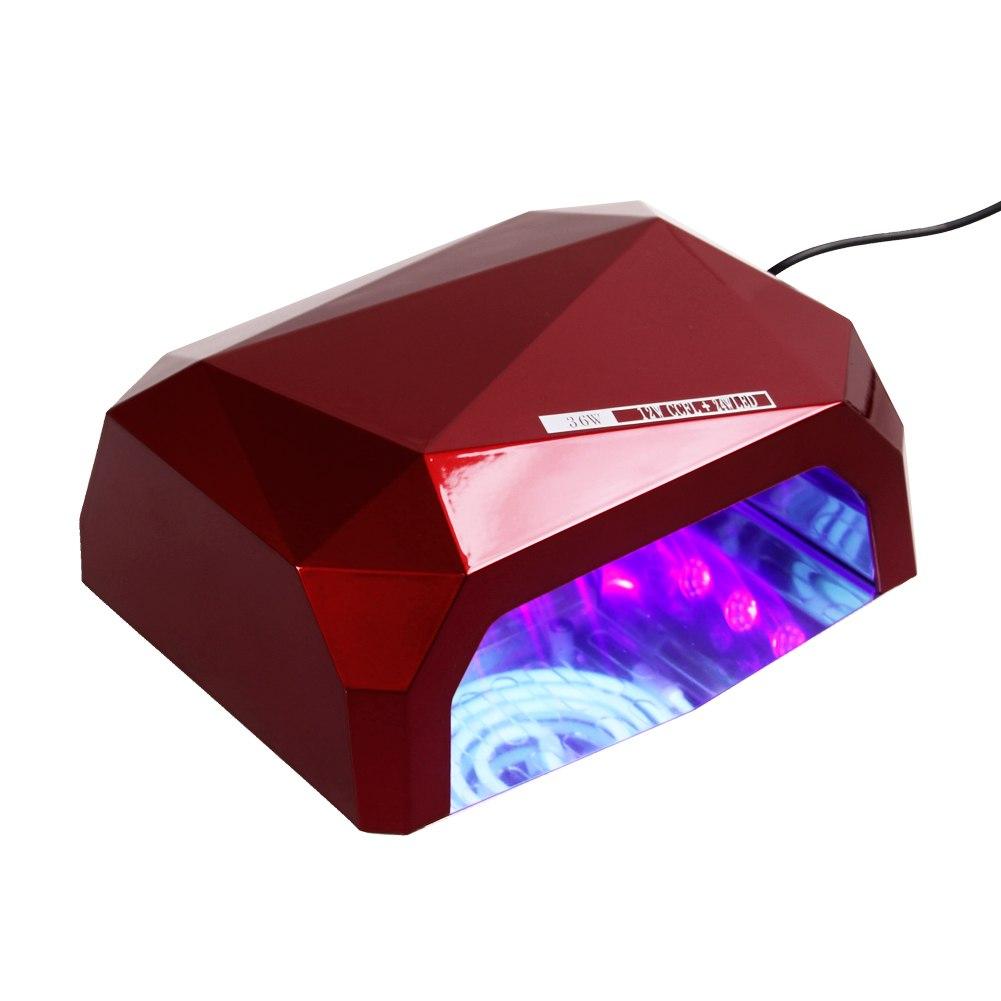 ... Nail Dryer Diamond Shape Curing Lamp Machine UV Gel Nail Polish eBay