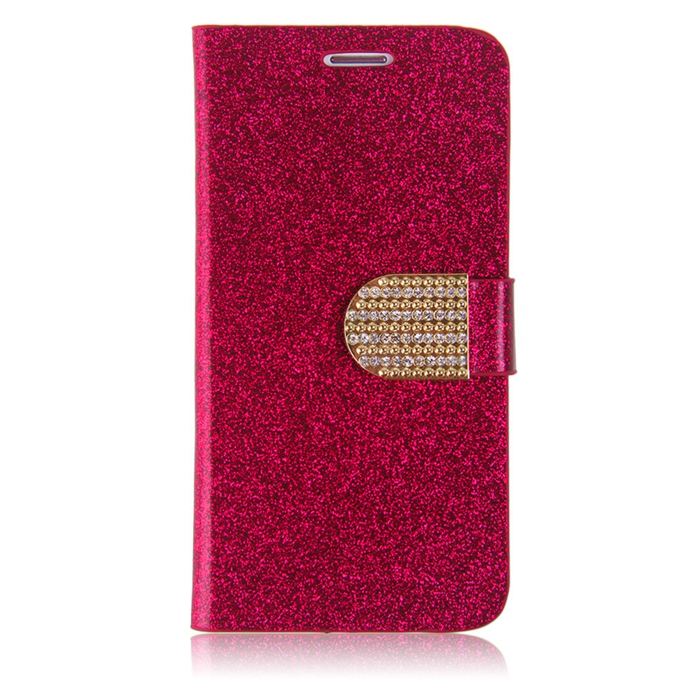 Case Design personalised bling phone cases : Flip-Sparkle-Bling-PU-Leather-Wallet-Case-Cover-For-Samsung-Galaxy-S6 ...