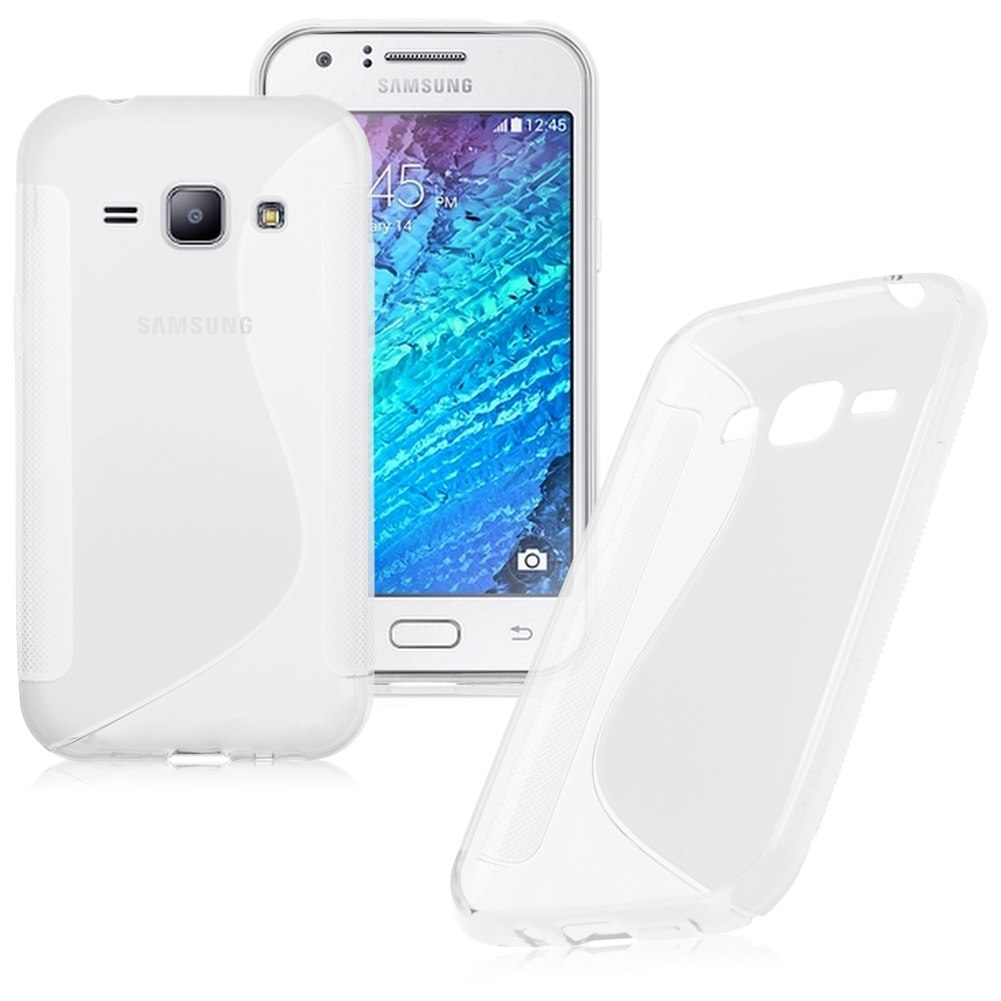 Soft Silicone TPU Back Case Cover S Line Skin For Samsung