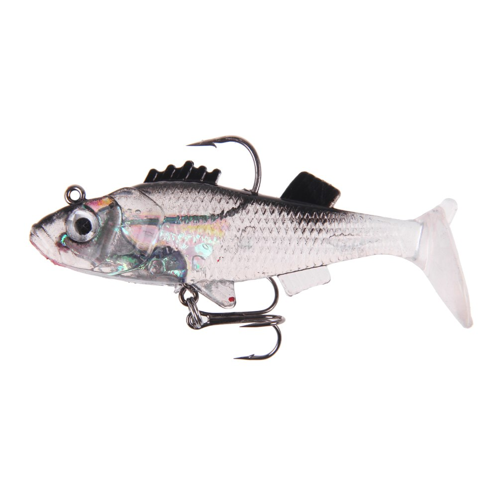 1pcs soft bait fishing lures lead jig life like head fish for Fishing tackle online