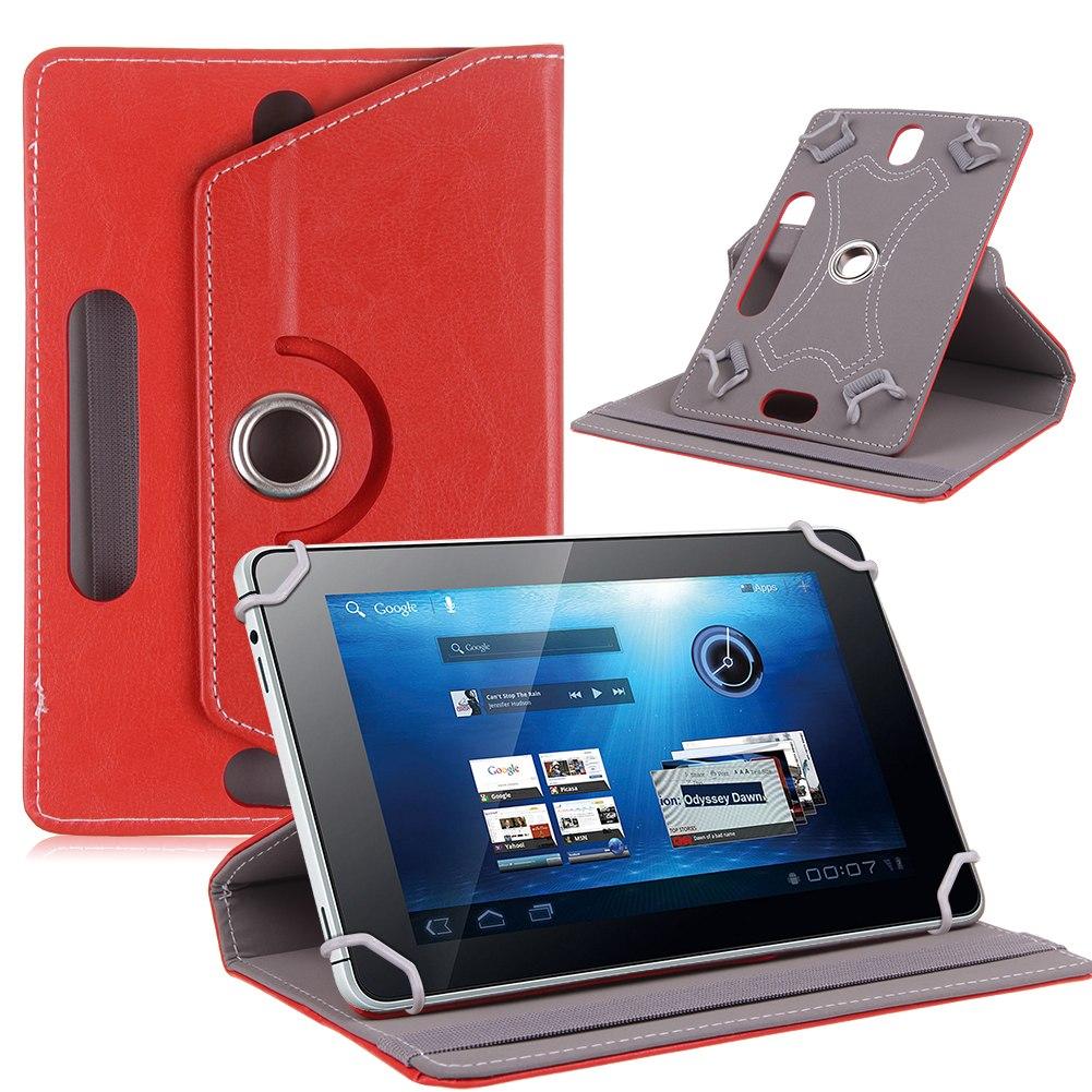 "Universal Housse Coque Etui Rotatif ROTATION 360 PU Cuir Tablette 7 8 9 10 10.1"""