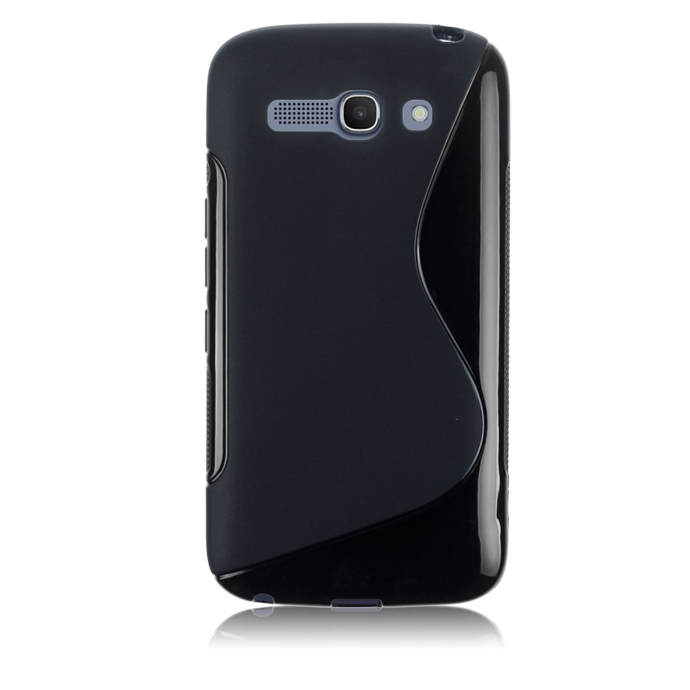 Soft tpu silicone gel back case cover skin for alcatel one