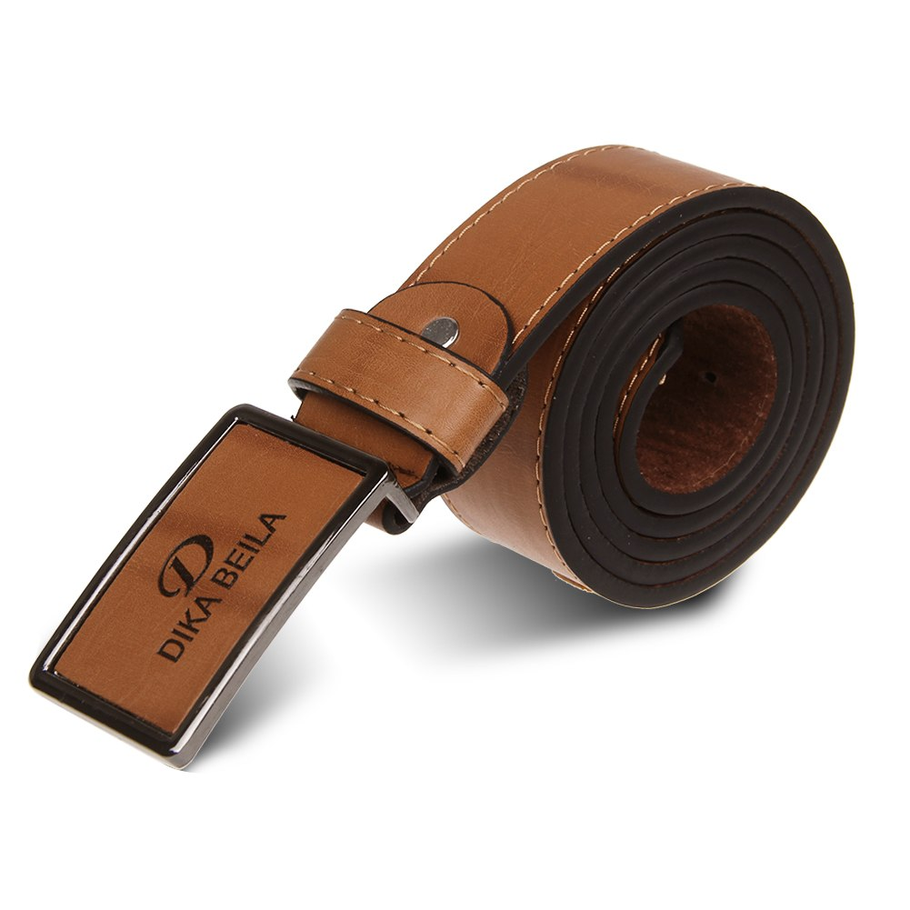 casual waistband luxury leather automatic buckle belt
