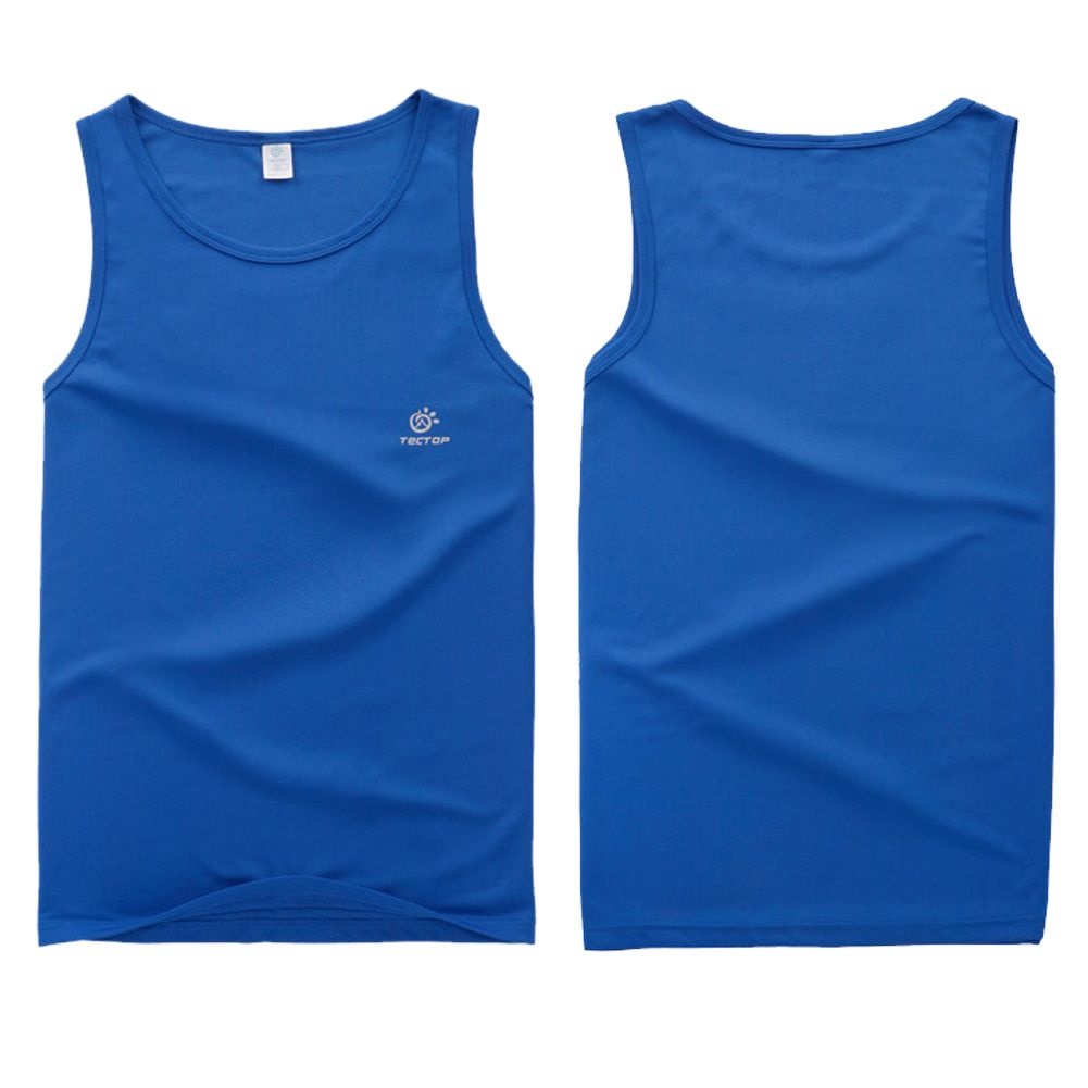 Mens athletic vest sleeveless tank tops singlet gym t for Mens athletic cut shirts