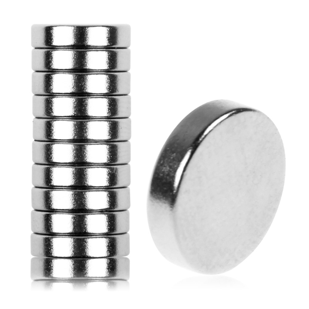 10pcs 5x2mm 12x3mm disc round rare earth neodymium strong for Super strong magnets for crafts