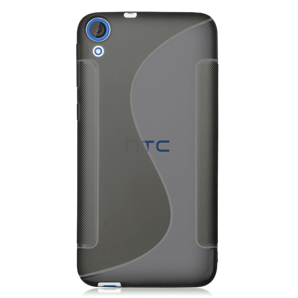 For HTC Desire 820 Case Slim Soft TPU Gel Rubber Back Cover Skin S-Line