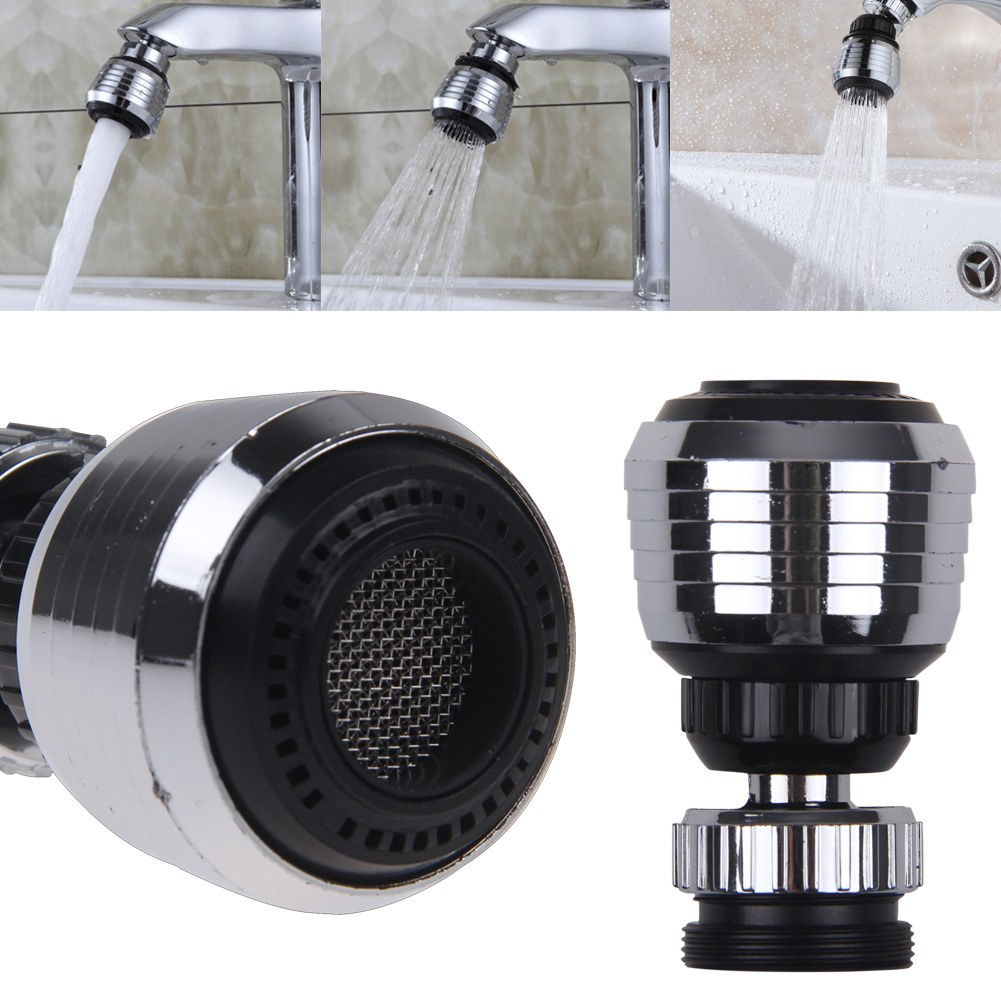 Swivel Aerator For Kitchen Faucet: Kitchen Tap Faucet Aerator 360° Swivel Adjustable Nozzle