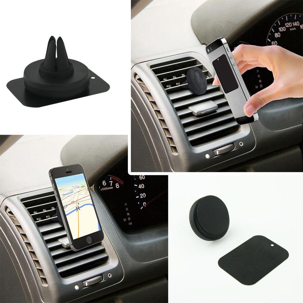 Universal smartphones car air vent mount holder 7