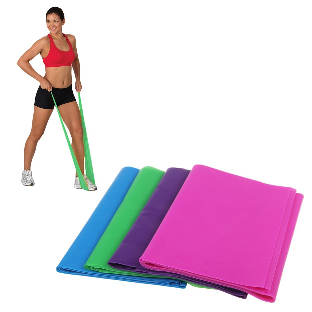 Yoga Pilates Rubber Resistance Exercise Fitness Physio