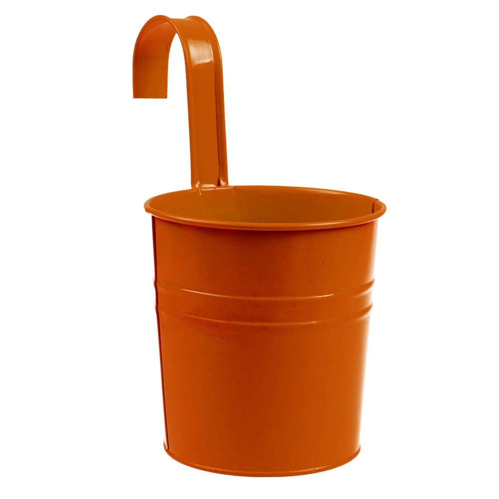 Can be used as a flower pot, and place it to the windowsill or desk to decorate your room. 1 x Flower Pot (Plants Not Included). Made of iron material, sturdy and durable.