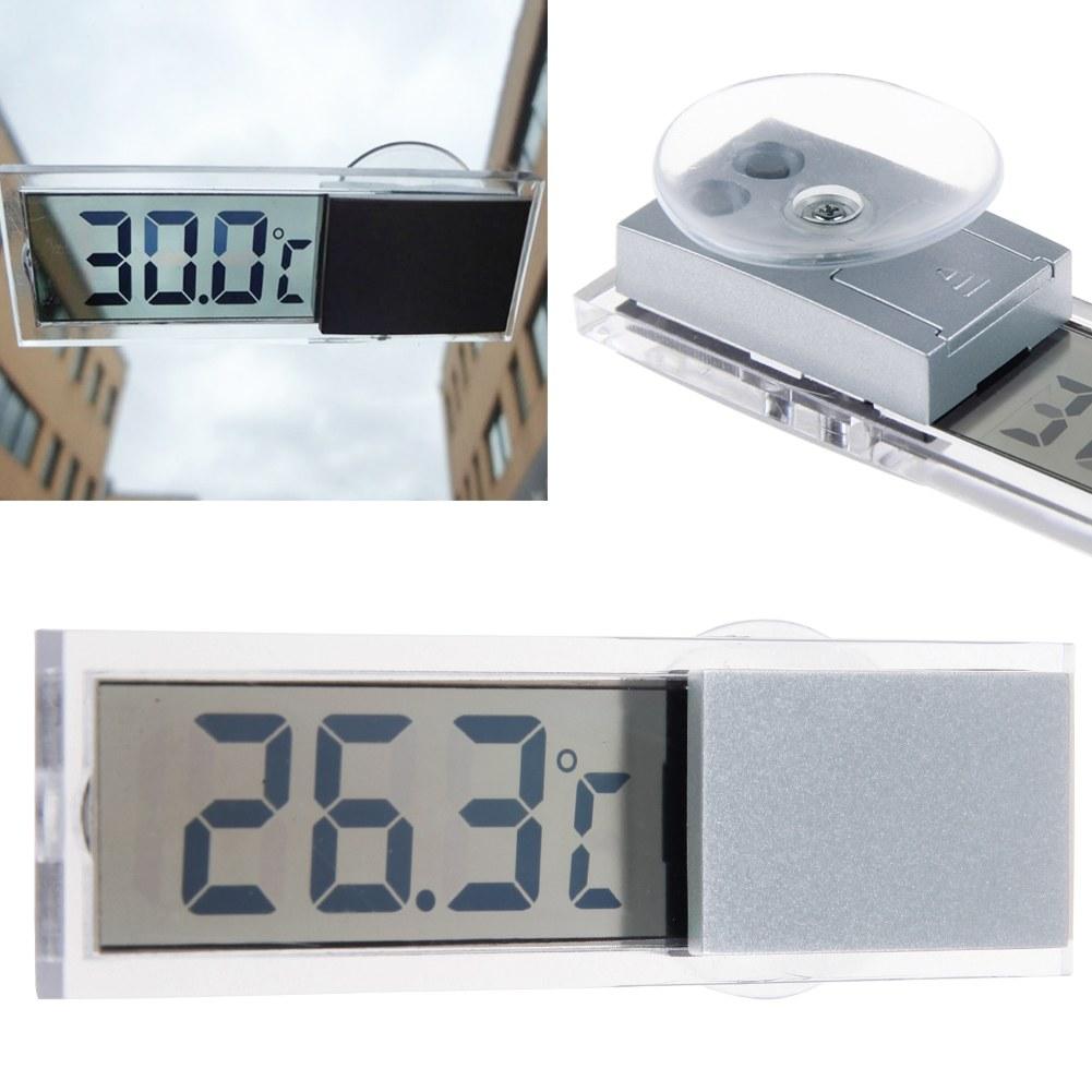 mini car lcd digital display room temperature meter. Black Bedroom Furniture Sets. Home Design Ideas