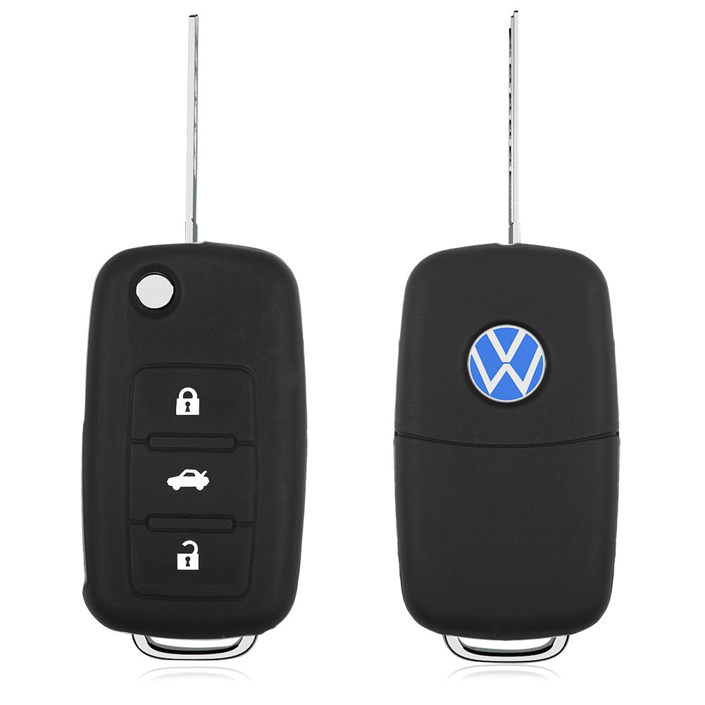 hot silicone car remote fob key case cover  vw volkswagen ebay