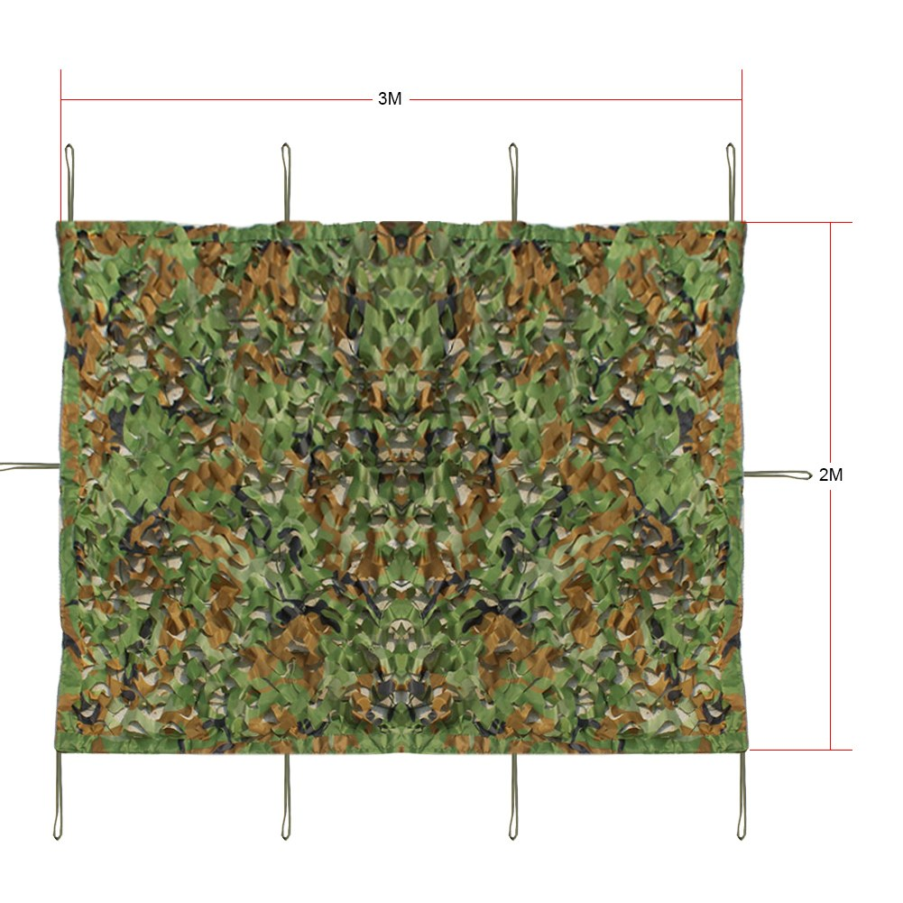 Camouflage Net/Camo Army Camouflage Netting Camo Net Hide Kids Hunting Shooting