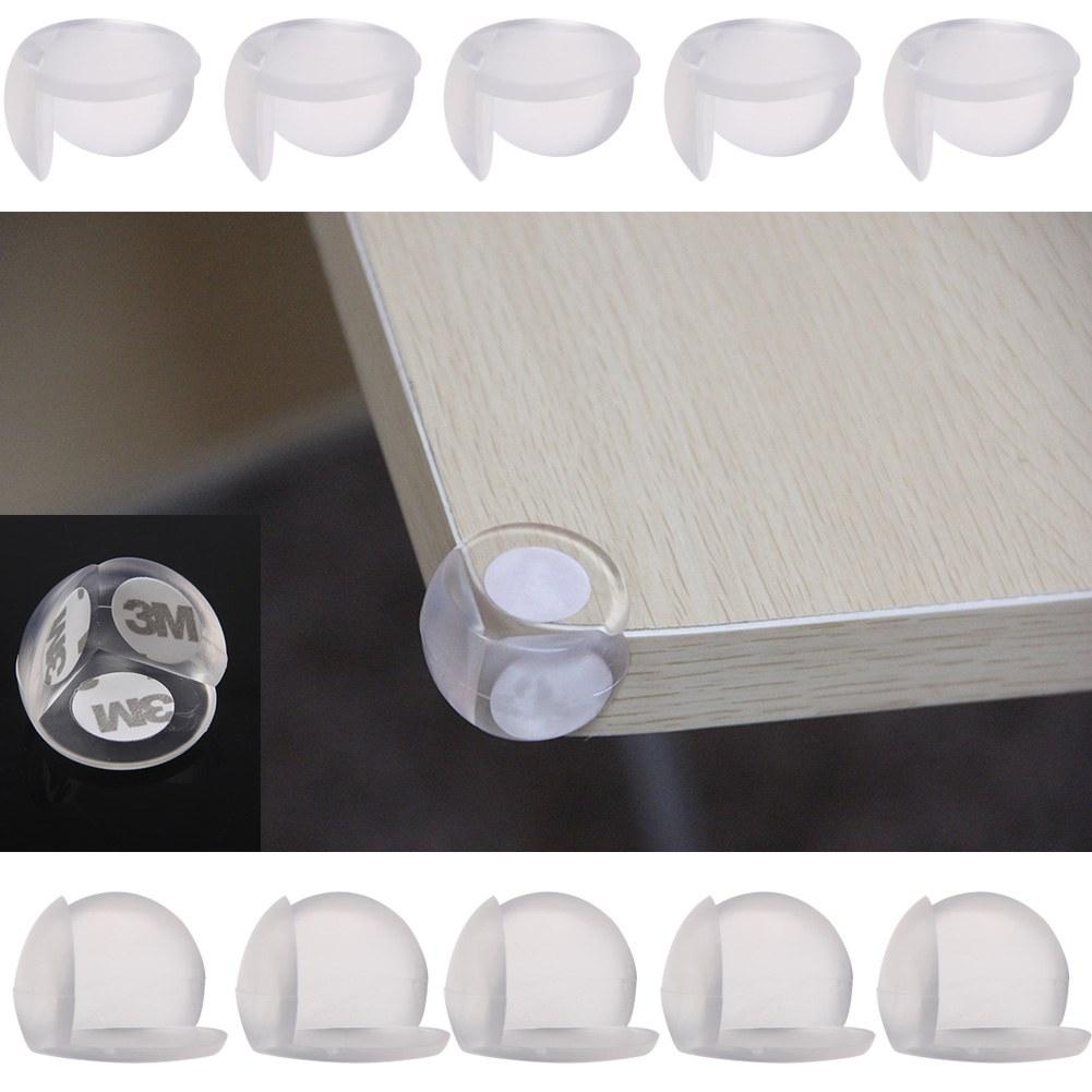 10x baby safety table desk edge corner cushion guard softener bumper protector. Black Bedroom Furniture Sets. Home Design Ideas