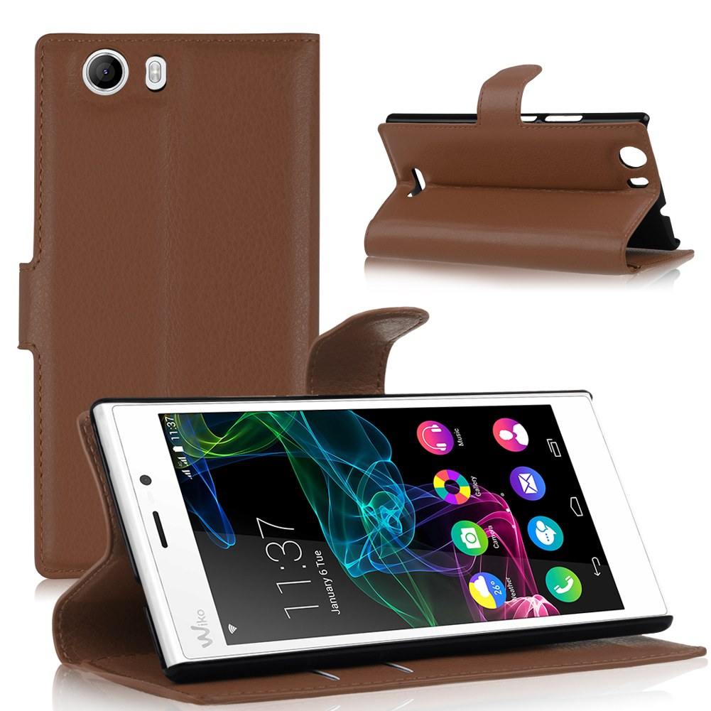 accessoire housse etui coque portefeuille support video rabat pour wiko mobile. Black Bedroom Furniture Sets. Home Design Ideas