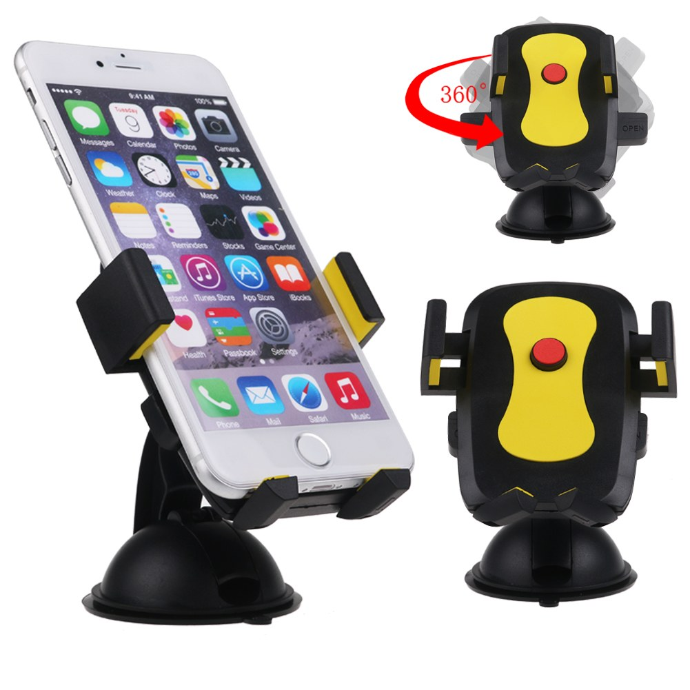 support t l phone de voiture ventouse pare brise universel pr smartphone gps mp3 ebay. Black Bedroom Furniture Sets. Home Design Ideas