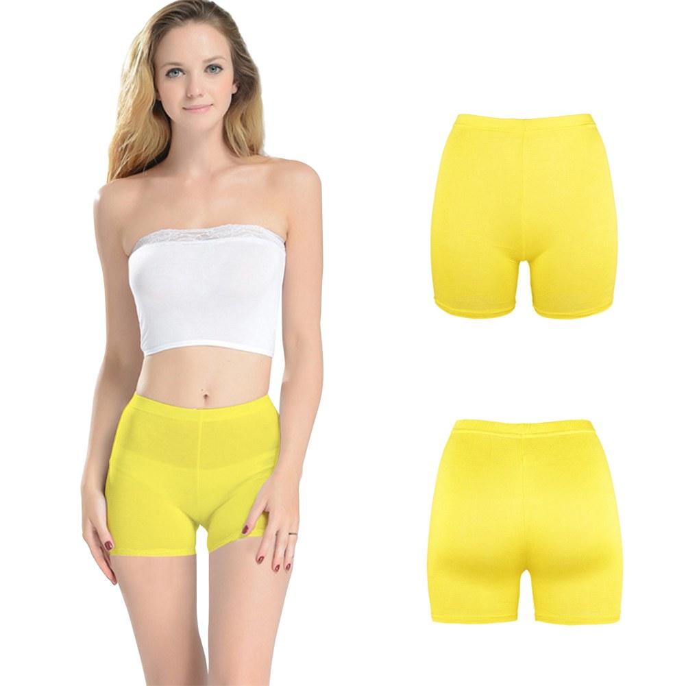 Women-Belly-Dance-Costume-Safety-Underwear-Solid-Tight