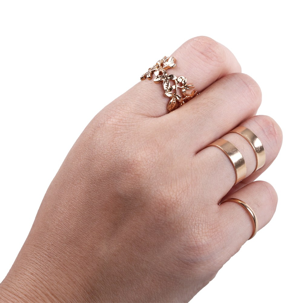 Silver Above Knuckle Ring