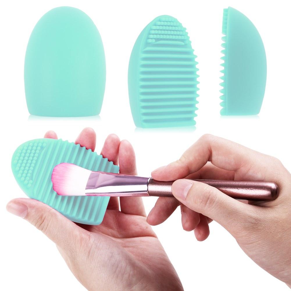 Silicona-Limpieza-Cosmetico-Maquillaje-Cepillo-Brocha-Herramienta-Limpiador