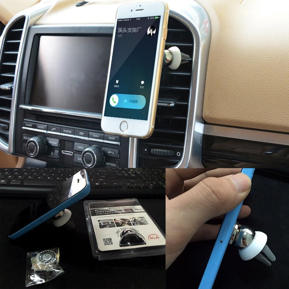Soporte magn tico salpicadero salida de aire de coche mesa - Soporte tablet mesa ...