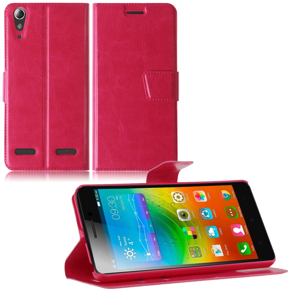 Case For Lenovo A7000 A7000 Plus K3 Note Two Color Leather Card Source · Cases And