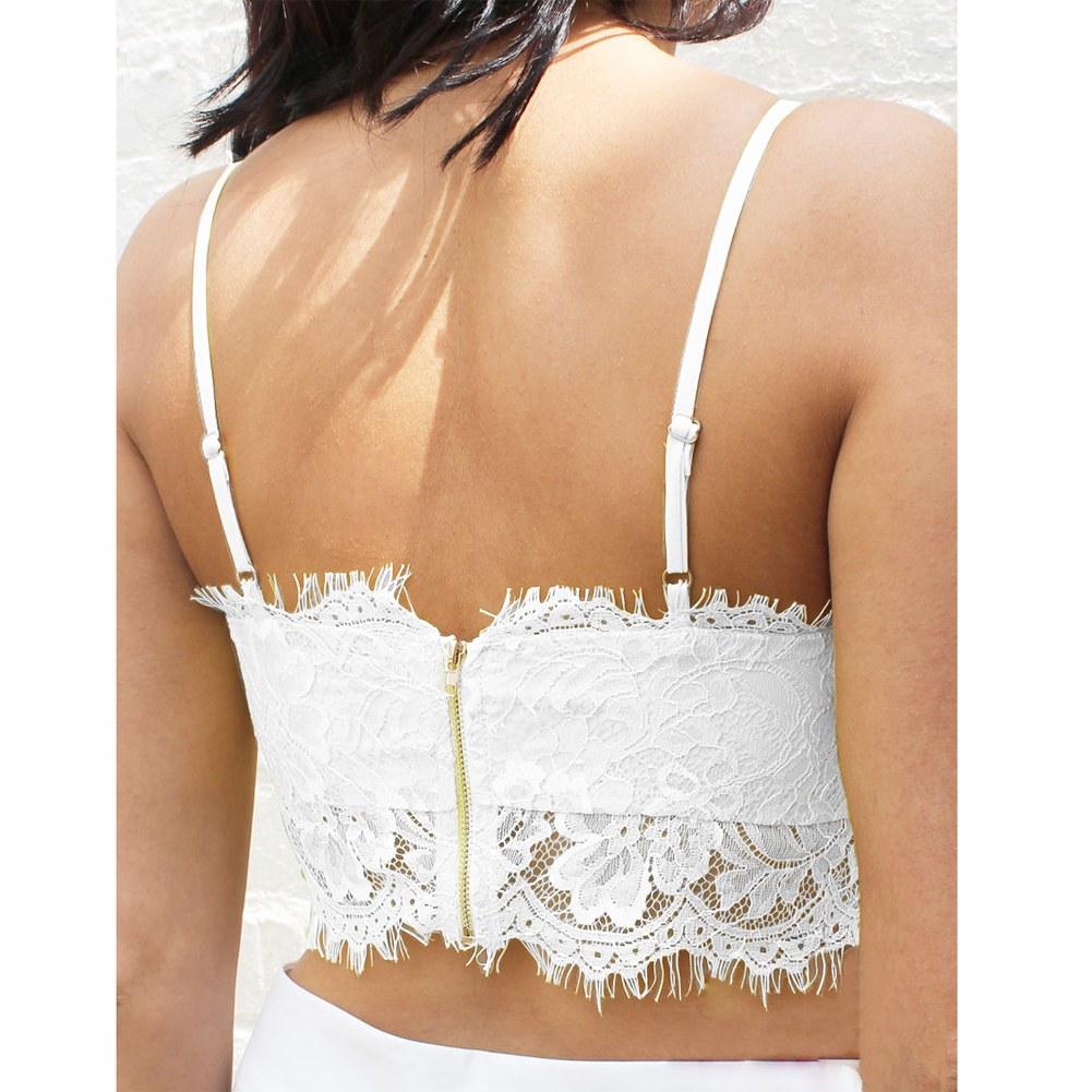 Femme sexy dentelle brassi re soutien gorge gilet bra bretelle support blouse ebay - Bras tatoue femme ...