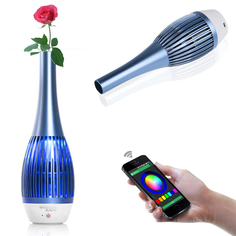 bluetooth hifi musik speaker lautsprecher vase f r handy smartphone iphone ipad ebay. Black Bedroom Furniture Sets. Home Design Ideas