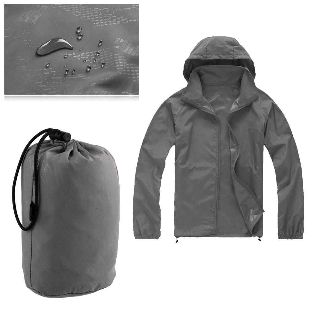 Men Women Jacket Bicycle Outdoor Sports Rain Coat Windproof Waterproof Unisex