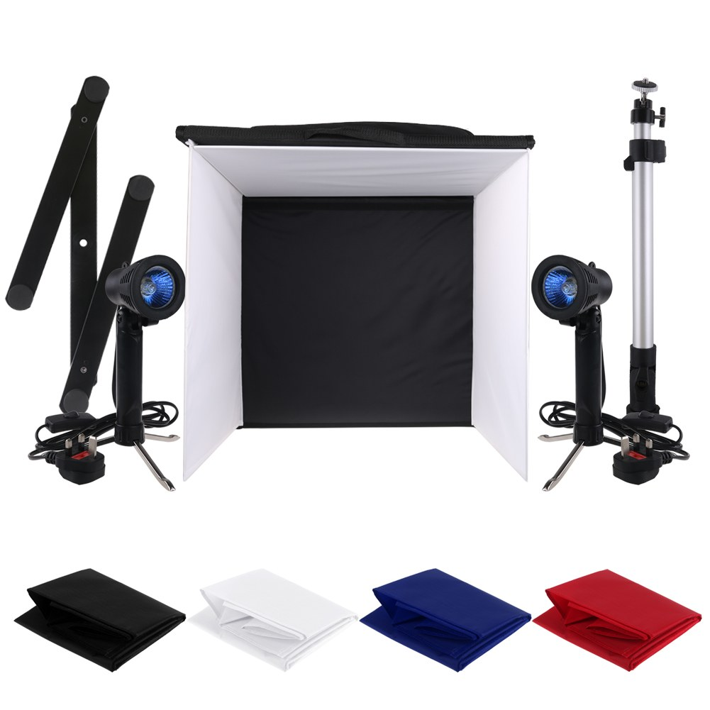 Portable 50cm Camera Photo Studio Tent Kit Lighting Cube