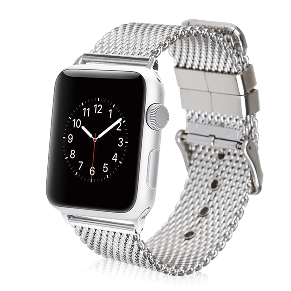 Stainless Steel Strap Classic Buckle Adapter Watch Bands ...