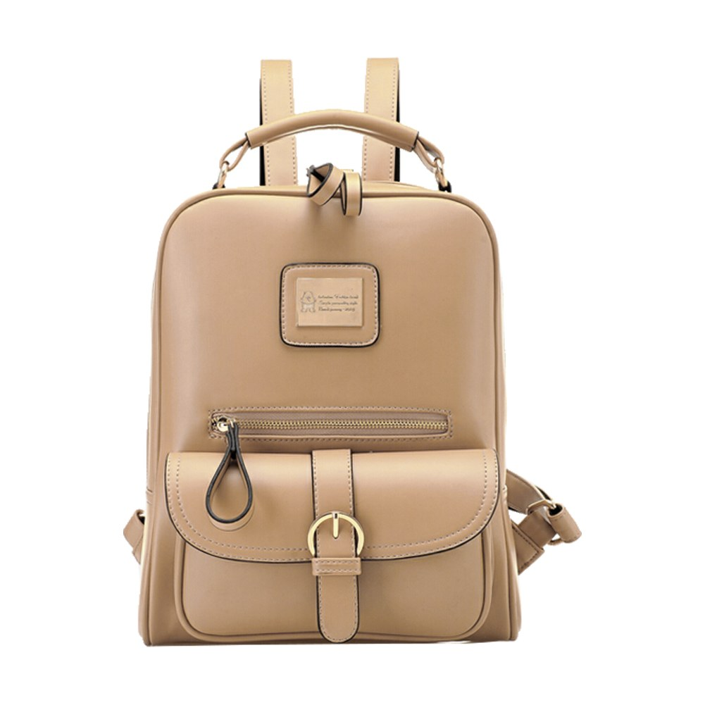 585553919db3 Fashion Women s Backpack Travel PU Leather Handbag Rucksack .