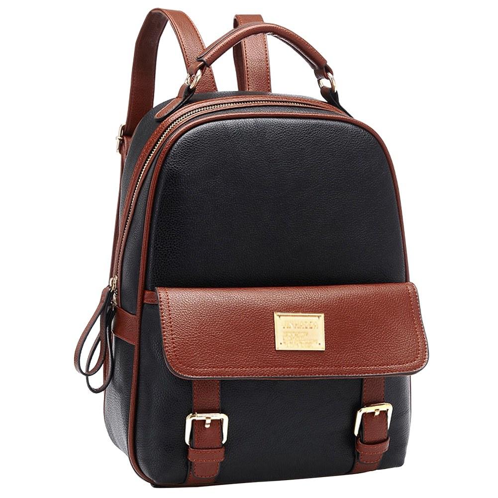 School bag for girl - Fashion Womens Korean Pu Leather Travel Handbag Schoolbag