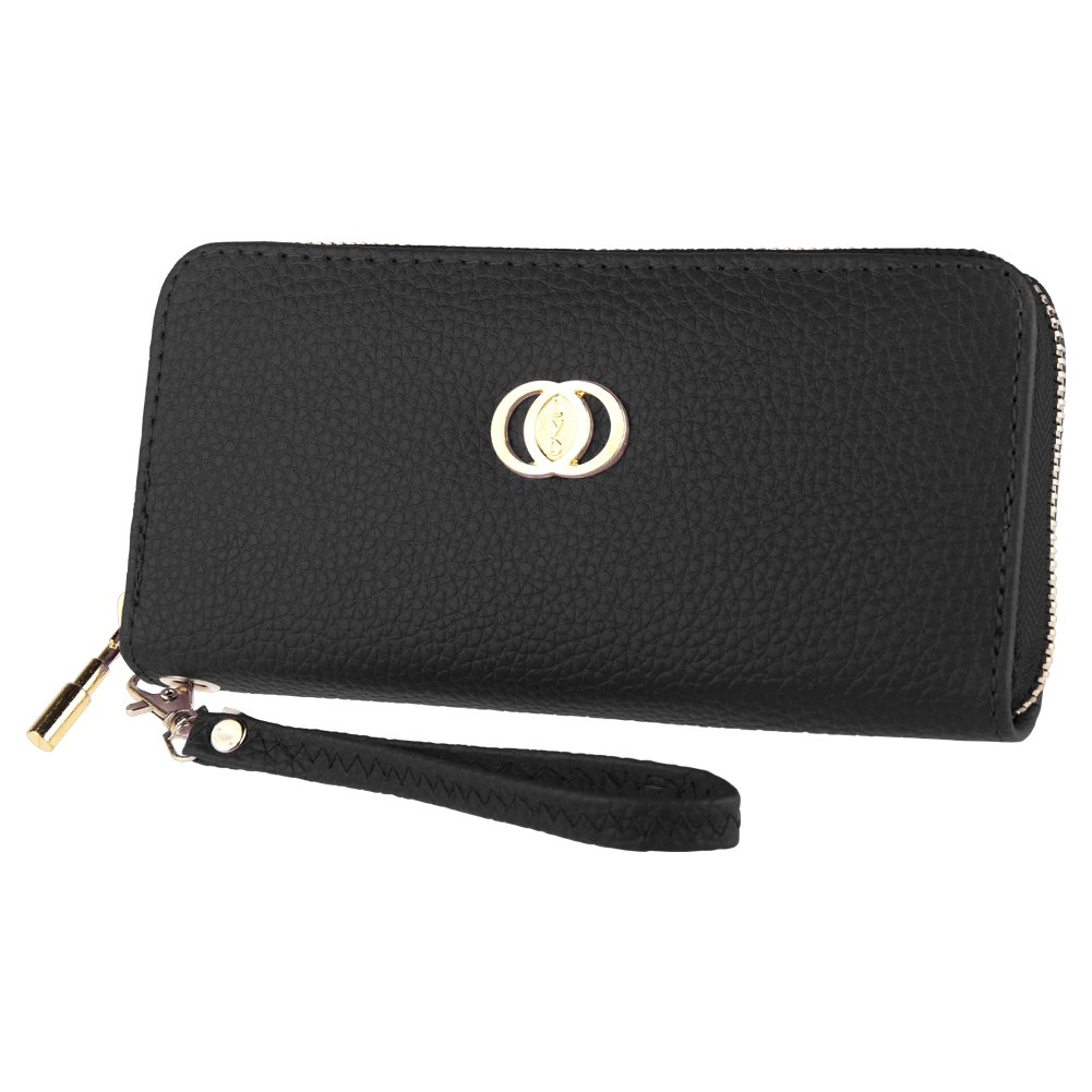 femme bracelet portefeuille porte monnaie pochette embrayage sac en pu cuir zip ebay. Black Bedroom Furniture Sets. Home Design Ideas