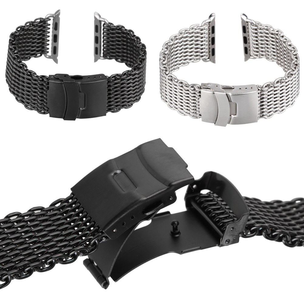 how to adjust mesh band on curran watch
