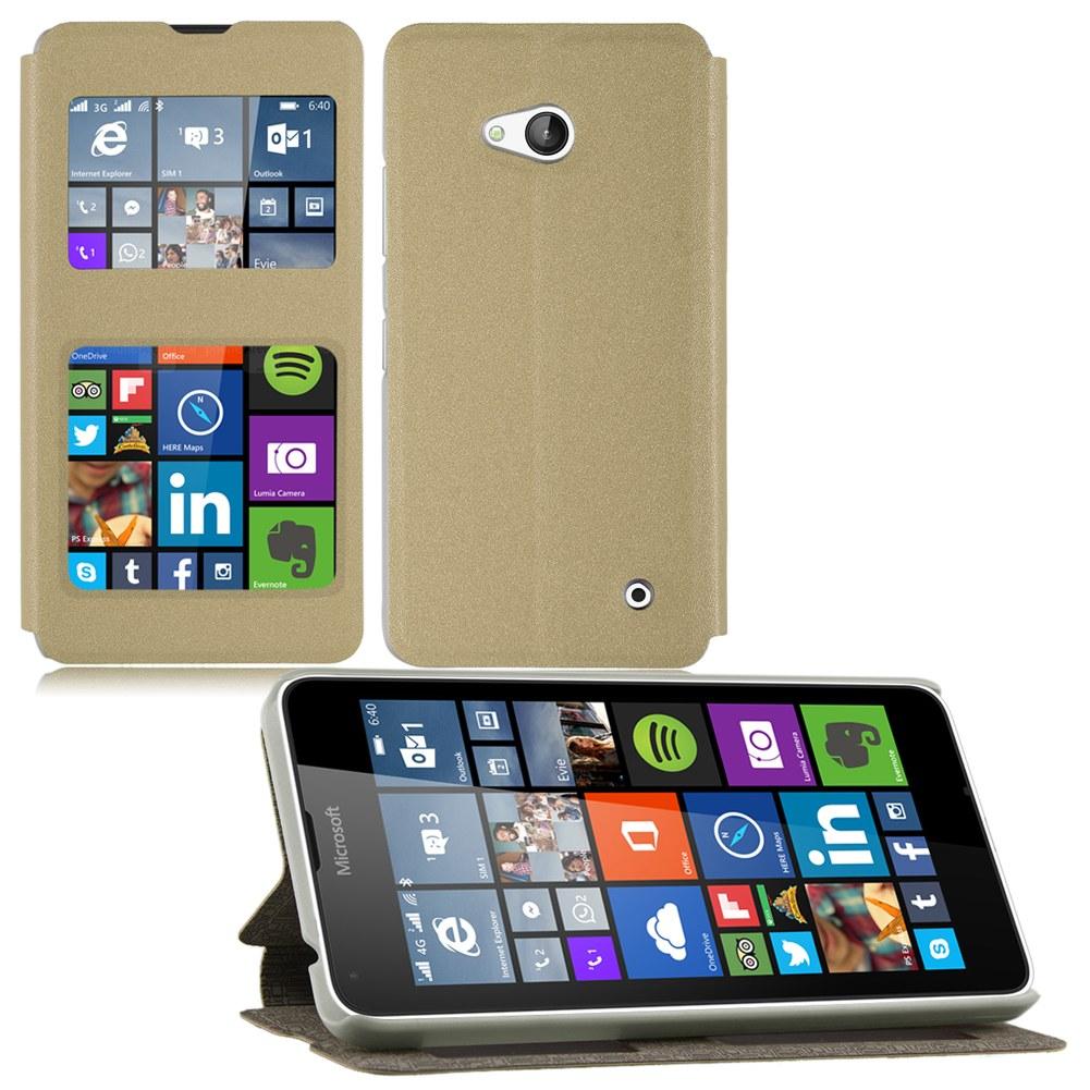 Housse Etui Coque Pour Microsoft Lumia 640 640xl Flip View