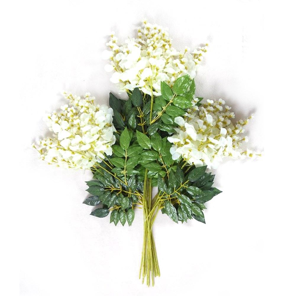 vigne fleur artificielles suspendus feuilles glycine soie d cor mariage jardin ebay. Black Bedroom Furniture Sets. Home Design Ideas