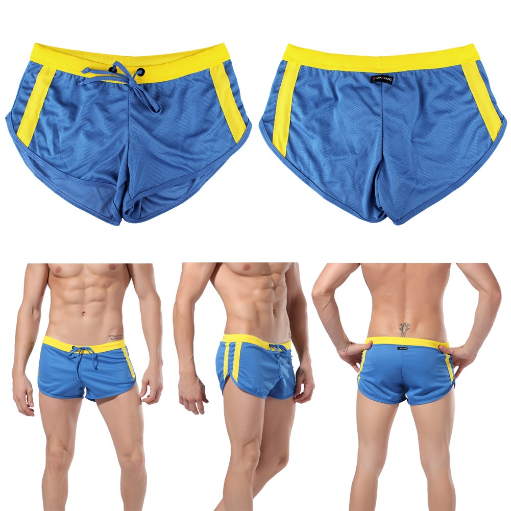 From beach to pool, swim trunks continue to be the most popular men's swimwear option. Made with quick-drying fabrics that are lightweight and comfortable, it's no wonder these shorts have become a staple in almost every wardrobe. Swim trunks are a popular choice because of their comfort and their ability to appeal to men of all ages and sizes. Elastic waistbands and lining ensure a secure fit with no .