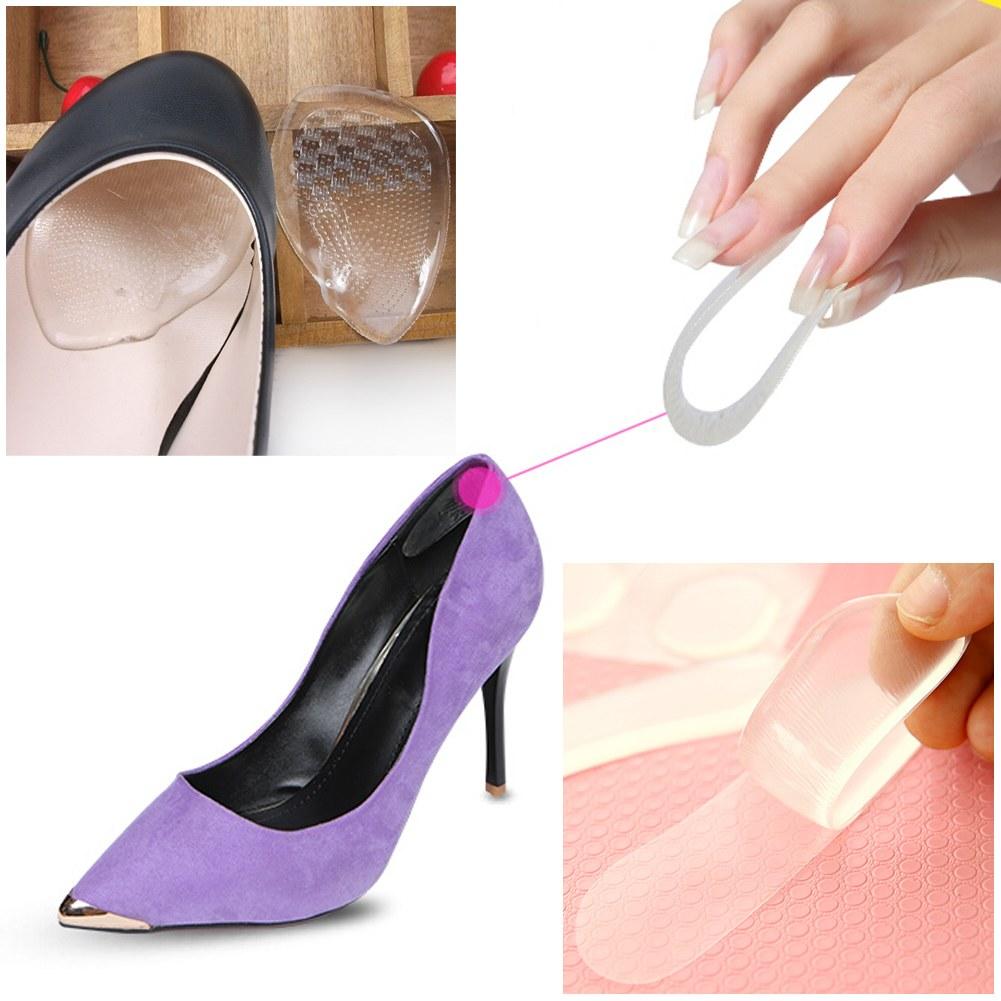 4pairs shoe heel inserts insoles gel pads cushion shoe