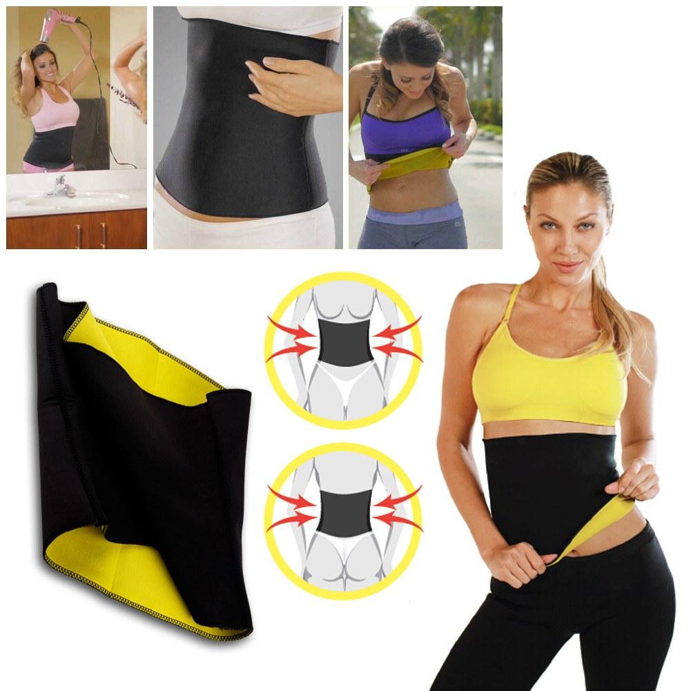 2015 New Women Hot Neoprene Body Shaper Slimming Waist Pants Slim Belt Yoga Vest