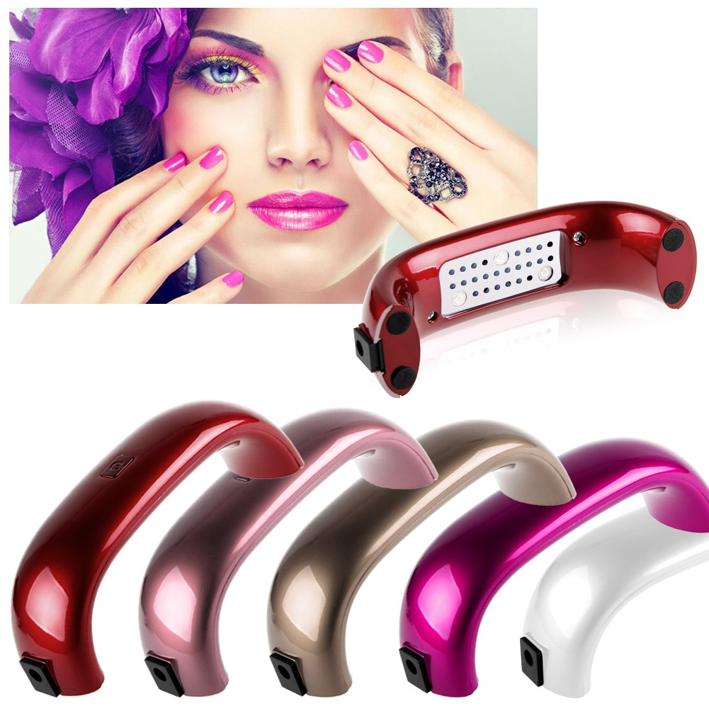 mini led 9w nagel trockner aush rtelampe maschine uv gel nail polish ebay. Black Bedroom Furniture Sets. Home Design Ideas