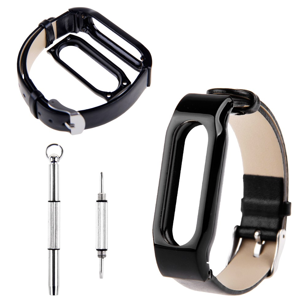 Leather Design Bracelet Replacement for XIAOMI MI BAND Wrist Strap Smartband